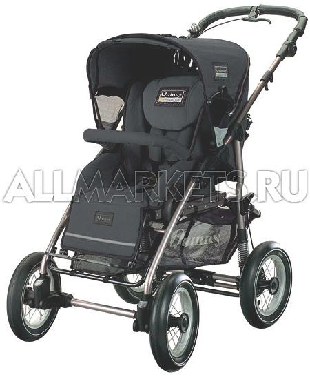 Детская четырехколесная прогулочная коляска Quinny Freestyle 4XL