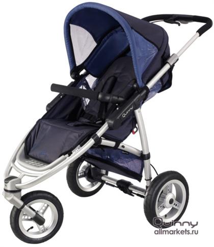 Детская трехколесная прогулочная коляска Quinny Speedi SX
