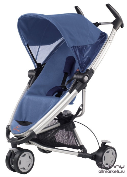 Quinny Zapp Xtra Детская прогулочная коляска Quinny Zapp Xtra Electric Blue 2011
