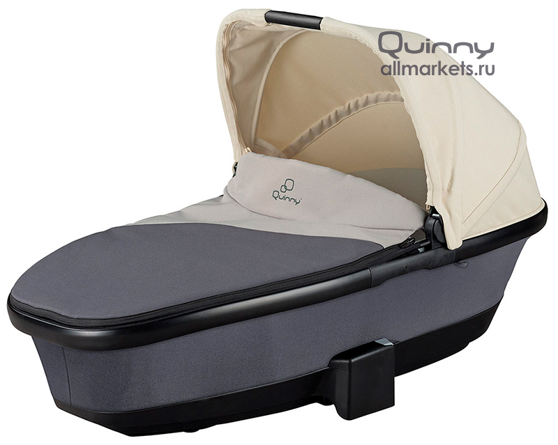 Прогулочная коляска QUINNY FOLDABLE CARRYCOT REWORKED GREY