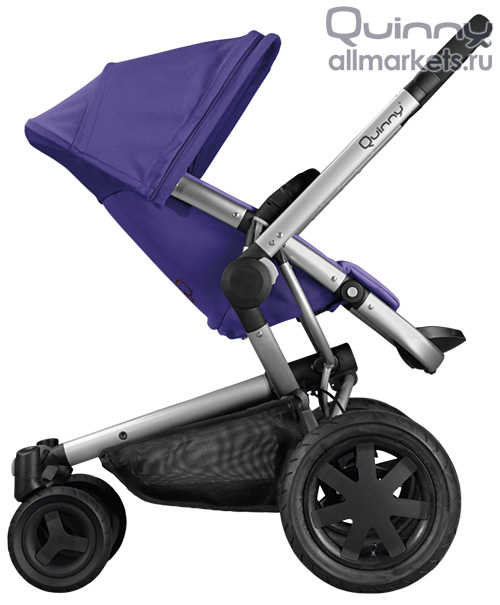 Quinny Buzz Xtra Pushchair In Purple Pace With Maxi Cosi: ДЕТСКАЯ ЧЕТЫРЕХКОЛЕСНАЯ КОЛЯСКА QUINNY BUZZ XTRA PURPLE