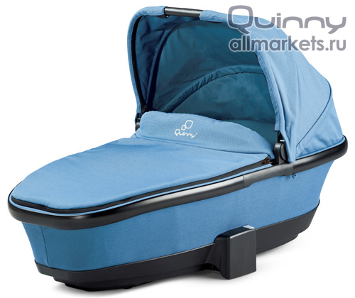Люлька Quinny Foldable Carrycot Blue Charm