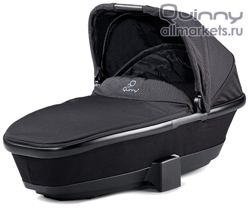 Люлька Quinny Foldable Carrycot Black Devotion