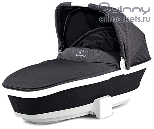 Люлька Quinny Foldable Carrycot Black Irony