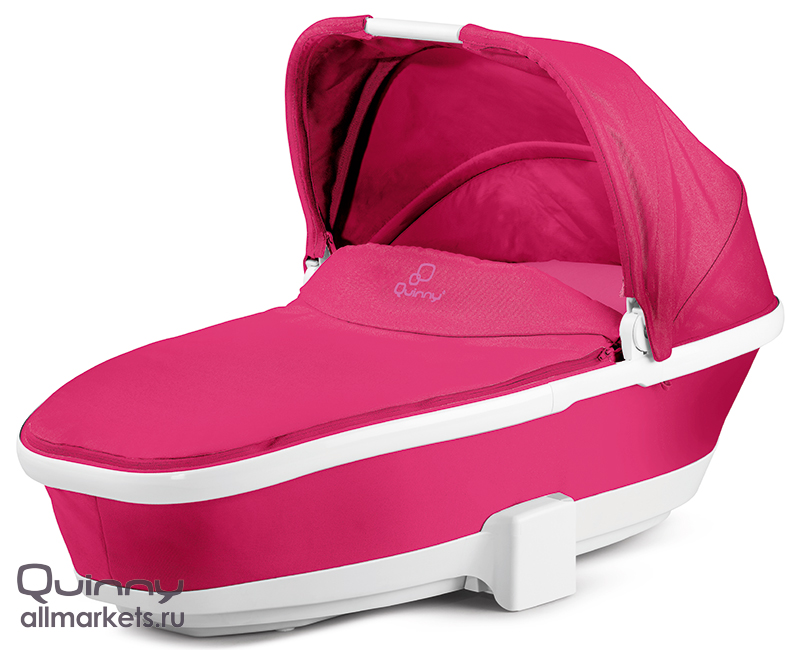 Спальная коляска QUINNY MOODD FOLDABLE CARRYCOT PINK PASSION 2015